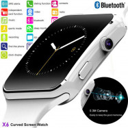 NEW X6 Curved Screen Bluetooth Smart Watch Phone Mate for Samsung//Android