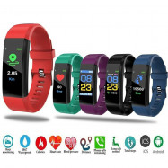 Fitness Watch Bracelet Heart Rate Blood Pressure Monitor Smart Activity Tracker