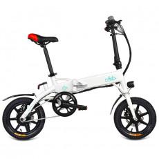 FIIDO D1 Mini Aluminum Alloy Smart Folding Electric Bike Moped Bicycle EU Plug