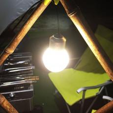 SUNREI C9 Small Hanging Lamp Tent Lamp Pocket Camping Lights