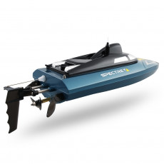 JJRC S4 Spectre Waterproof WiFi FPV RC Boat Support VR 720P HD Camera 20 - 25km/h Capsize Recovery