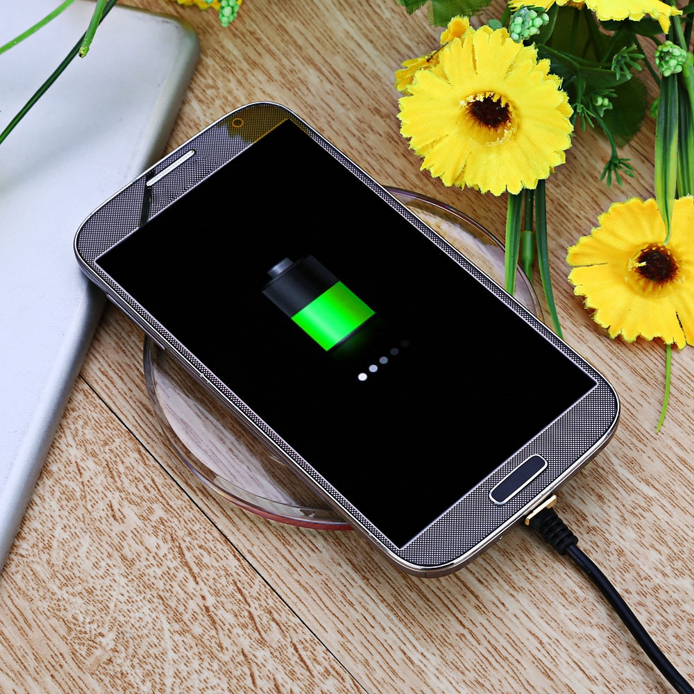 Android Devices Wireless Charging Adapter Module Pad Coil Wide Top and Narrow Bottom Type