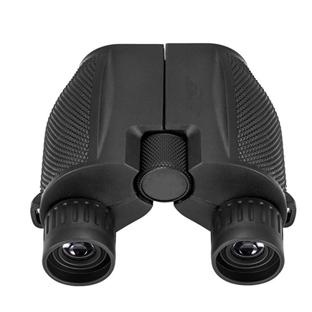 10x25 Folding High Powered Binoculars With Weak Light Night Vision Clear