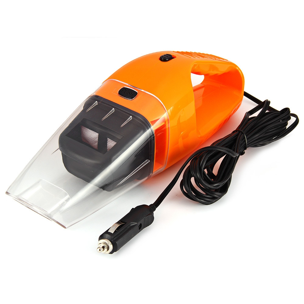120W 12V Car Vacuum Cleaner Handheld Wet Dry Dual-use Super Suction 4.5m Cable