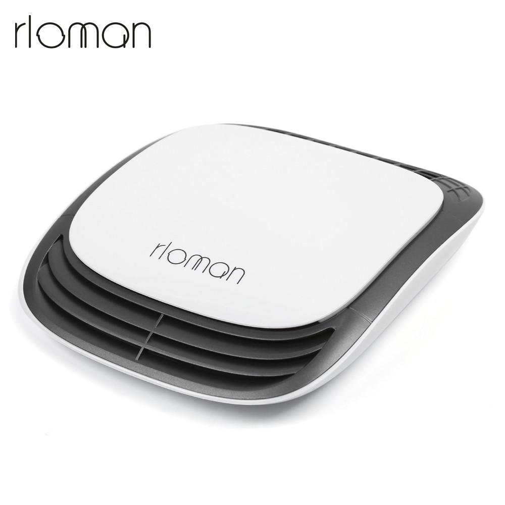 rloman HL - 801 Portable Anion Intelligent Car Air Purifier