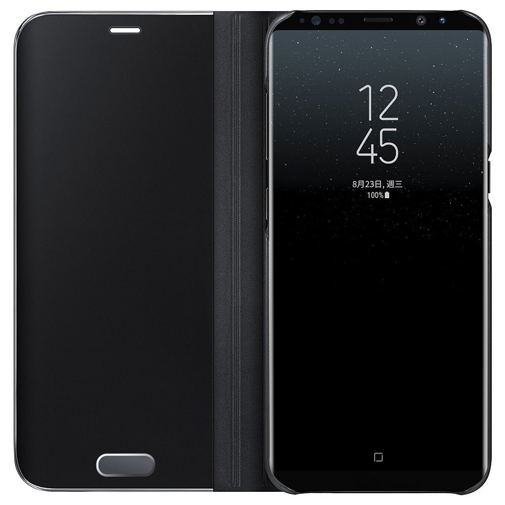 Case For Samsung Galaxy Note8 Edge Luxury New Clear View Smart Flip Leather Phone Cover