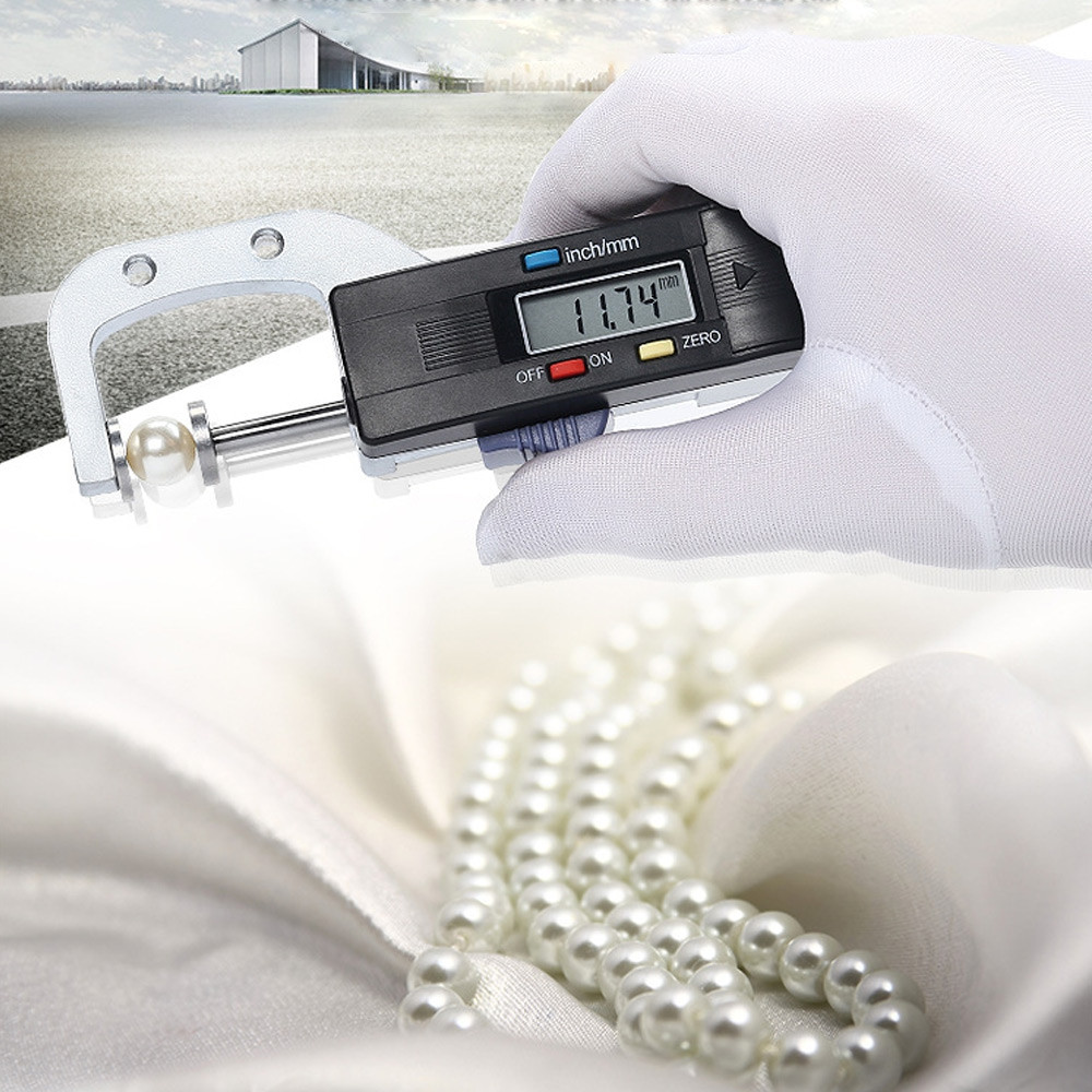 0 - 25.4 mm LCD Digital Thickness Gauge for Jewelry