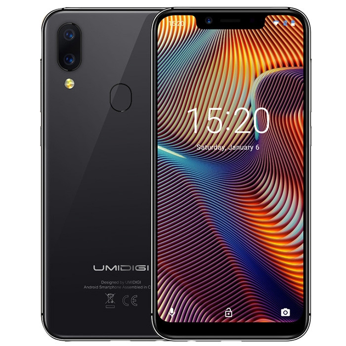 UMIDIGI A3 Pro 4G Phablet 5.7 inch Android 8.1 MT6739 Quad Core 1.5GHz 3GB RAM 16GB ROM 12.0MP + 5.0MP Rear Camera 3300mAh Built-in Low-level Configuration