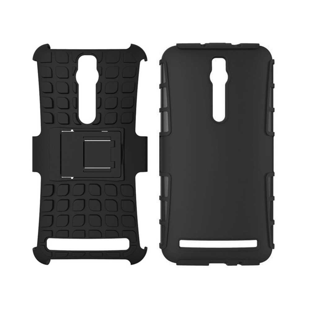 Double-protection Back Case with Bracket for ASUS Zenfone 2 (ZE551ML)
