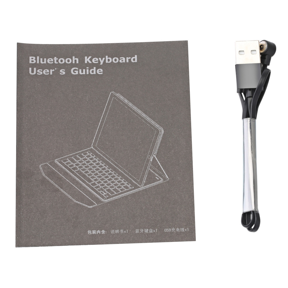 Bluetooth Keyboard Cover for iPad Air 1 / Air 2 / iPad Pro 9.7
