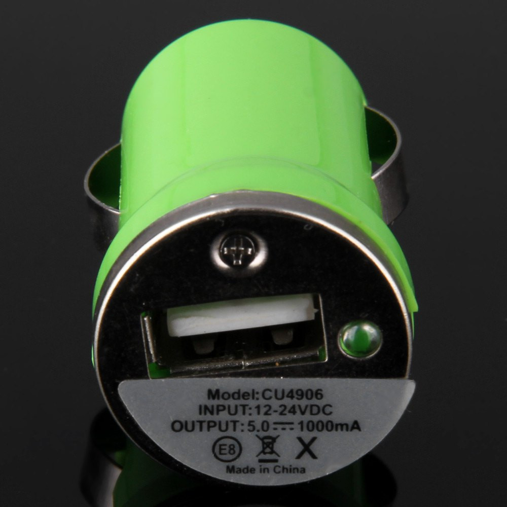 5V / 1A USB2.0 Car Charger for Moible Phone