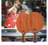 BOER High-end Ping Pong Racket Table Tennis Paddle Bat with Rosewood Base