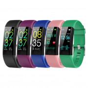 2021 New Smart Watch Men Fitness Smart Wristband Women Smart Band Waterproof Mens Sport Bracelet Ladies Clock Temperature