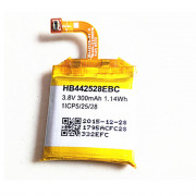 HB442528EBC Battery 300MAH/1.14Wh 3.8V Pack for Huawei Watch 1ICP5/25/28