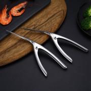 Shrimp Peeler Prawn Devein Peel Device Creative Kitchen Tool Stainless Steel