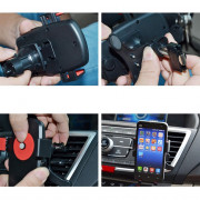 Car Use Phone Holder Air Outlet Rotatable Phone Holder Clamp Type Mount