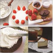 10 Inch Cake Spatula Stainless Steel Wood Handle Cream DIY Baking Cakes Tool