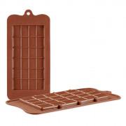 24 Square Food Grade Silicone Chocolate Mould
