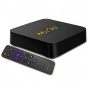 TV Box RK3328 Android 8.1 4GB RAM + 64GB ROM 2.4G WiFi USB 3.0 100Mbps Support 4K H.265