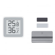 360 Degree HD E-ink Display Indoor Thermometer SENSIRION High Precision Temperature Humidity Gauge