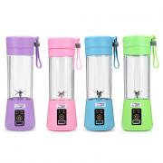 Portable Juicer USB Port Cordless 380ml Juice Smoothie Home Travel Office Bottle