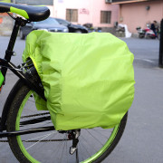 ROSWHEEL Bicycle Rear Seat Carrier Bag Rain Cover Protector