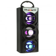 MS - 222BT Portable Bluetooth Speaker FM Radio AUX