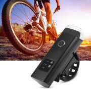 USB Rechargeable Waterproof Bike Front Handlebar Flashlight