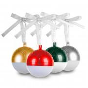 Portable Colorful LED Christmas Ball Bluetooth Speaker
