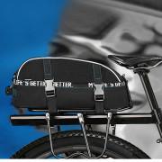 ROSWHEEL 8L Multifunctional Double Layer Bike Rear Seat Bag