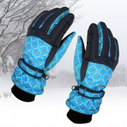 Winter Outdoor Riding Skiing Windproof Fleece Warm Gloves