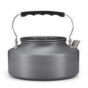 1.1L Outdoor Camping Portable Coffee Tea Kettle Aluminum Tableware