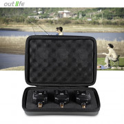 Outlife JY - 1 - 3 3pcs / Box LED Sound Visual Fishing Bite Alert