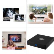 X96 TV Box Amlogic S905X Quad Core 2.4GHz WiFi HDMI 2.0 with USB 2.0 AV LAN TF Card Slot