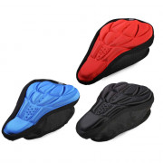 3D Silicone Memory Sponge Saddle Anti-skid Air-permeable Bike Seat Cover