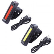 Cycling Night Bike Rechargeable Light for Mountain Road Bicycle