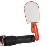 Glass Adjustable Rotate Flexible Bicycle Mini Rear View Mirror
