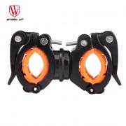 Wheelup 360 Degree Rotation Cycling Bicycle Flashlight Holder Bike Light Mount