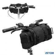 Multi-purpose Heavy-duty Waterproof 800D Nylon Oxford Outdoors Cycling Bicycle Bike Bag Shoulder Waist Bag