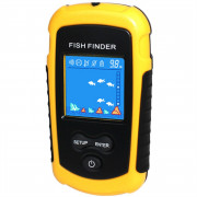 100M Portable Sonar Colorful Fish Finder Fishing Lure Echo Sounder