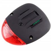 Solar Power LED Cycling Rear Safety Warning Light