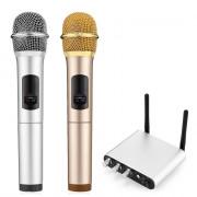 K38C 2PCS UHF Wireless Bluetooth Microphone