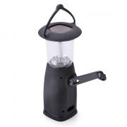 Solar Lantern Lamp 6 LED Manual Dynamo Camping