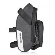 ROSWHEEL 131464 Bicycle Saddle Bag with Water Bottle Pocket