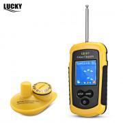LUCKY FFW1108 - 1 100M Fishing Sonar Wireless Fish Finder Alarm Sensor Transducer