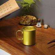 Keithart Ti3211 Pure Titanium Folding Single Layer Mug