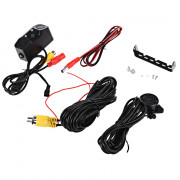 170 Degree Viewing Angle HD Car Rear View Camera with Radar Parking Sensor