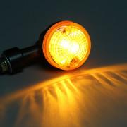 12V 2pcs Turn Signal Indicator Light for Motorcycle - Amber Light