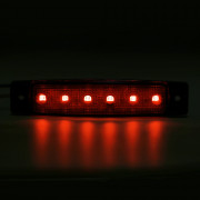 TMH - 6LED - B 5 Colors DC 12V Waterproof Car Truck Warning Side Light