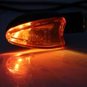 2Pcs Motorcycle Motorbike 12V 2W E11 Bulb Turn Signal Light Cornering Lamp Blinker